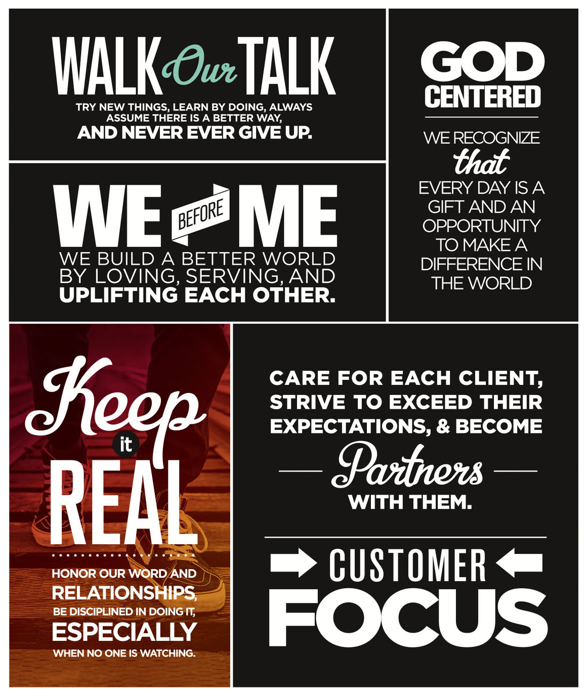 RevaComm Core Values